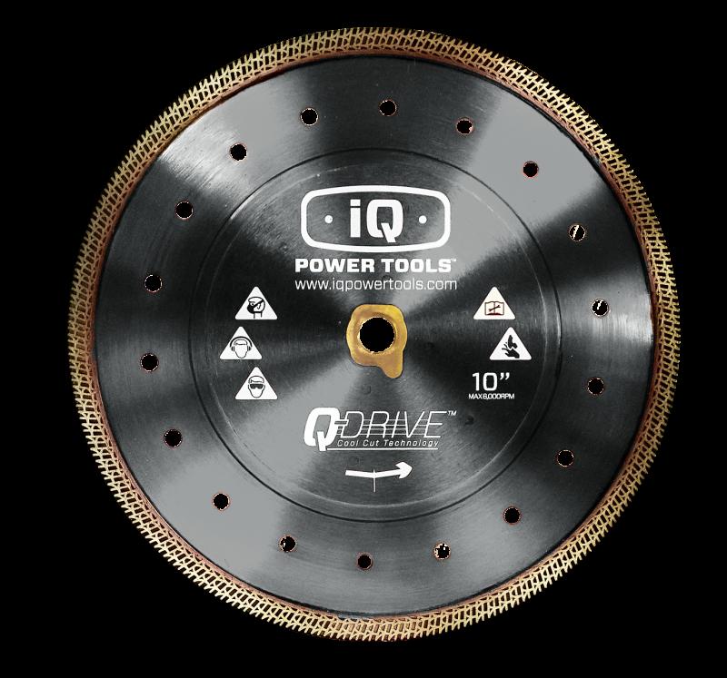 Q-Drive Cool-Cut Diamanttrennscheibe D 250mm für IQTS-244